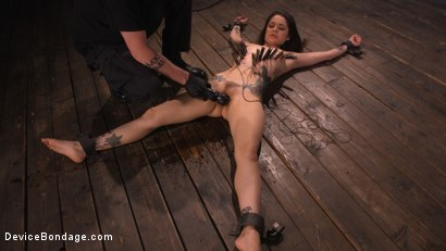 Photo number 15 from Vanessa Vega: Fresh Meat Lays It All On The Line shot for Device Bondage on Kink.com. Featuring Vanessa Vega in hardcore BDSM & Fetish porn.