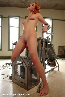 Photo number 12 from Open Wide shot for Fucking Machines on Kink.com. Featuring Addie Juniper in hardcore BDSM & Fetish porn.