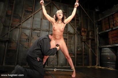 Photo number 11 from Hot MILF Gina Caruso, a cable sport caster, brings her hot, shaved body to Hogited. shot for Hogtied on Kink.com. Featuring Gina Caruso in hardcore BDSM & Fetish porn.