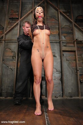 Photo number 2 from Hot MILF Gina Caruso, a cable sport caster, brings her hot, shaved body to Hogited. shot for Hogtied on Kink.com. Featuring Gina Caruso in hardcore BDSM & Fetish porn.