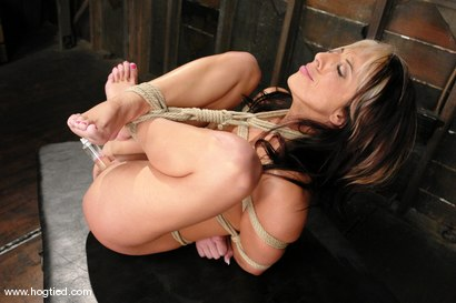 Photo number 9 from Hot MILF Gina Caruso, a cable sport caster, brings her hot, shaved body to Hogited. shot for Hogtied on Kink.com. Featuring Gina Caruso in hardcore BDSM & Fetish porn.