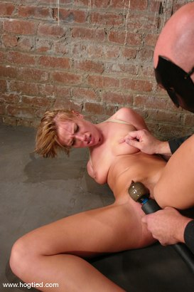Photo number 3 from Holly Wellin, has the most amazing hard orgasms <br> come out of her shot for Hogtied on Kink.com. Featuring Holly Wellin in hardcore BDSM & Fetish porn.