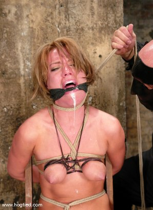 Photo number 9 from Holly Wellin, has the most amazing hard orgasms <br> come out of her shot for Hogtied on Kink.com. Featuring Holly Wellin in hardcore BDSM & Fetish porn.