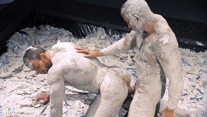 Mud Wrestling: Shay Michaels and Hunter Marx