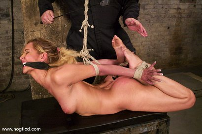 Photo number 9 from Isis Love is vibrated until she squirts,   in every scene. shot for Hogtied on Kink.com. Featuring Isis Love in hardcore BDSM & Fetish porn.