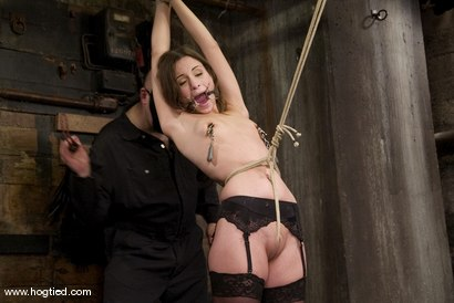Photo number 11 from Amber is Bound and Face Fucked shot for Hogtied on Kink.com. Featuring Amber Rayne in hardcore BDSM & Fetish porn.
