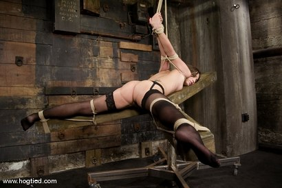 Photo number 4 from Amber is Bound and Face Fucked shot for Hogtied on Kink.com. Featuring Amber Rayne in hardcore BDSM & Fetish porn.