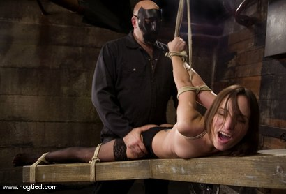 Photo number 5 from Amber is Bound and Face Fucked shot for Hogtied on Kink.com. Featuring Amber Rayne in hardcore BDSM & Fetish porn.