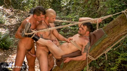 BOUND AND BEATEN: Tony Buff, David Anthony and Rico