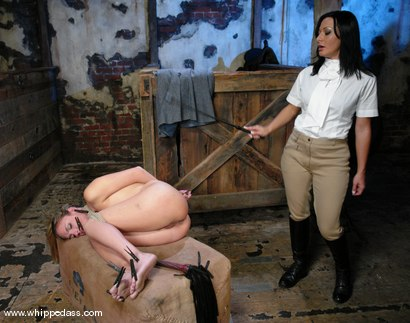 Photo number 7 from Lexi Love and Sandra Romain shot for Whipped Ass on Kink.com. Featuring Sandra Romain and Lexi Love in hardcore BDSM & Fetish porn.