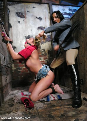 Photo number 5 from Lexi Love and Sandra Romain shot for Whipped Ass on Kink.com. Featuring Sandra Romain and Lexi Love in hardcore BDSM & Fetish porn.