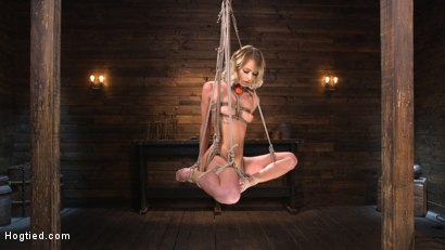Photo number 17 from Emma Hix: Sexy Slut Suffers Sensually shot for Hogtied on Kink.com. Featuring Emma Hix in hardcore BDSM & Fetish porn.