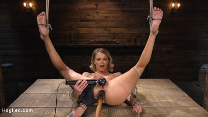 Photo number 26 from Emma Hix: Sexy Slut Suffers Sensually shot for Hogtied on Kink.com. Featuring Emma Hix in hardcore BDSM & Fetish porn.