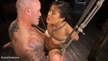 Photo number 12 from Kendra Spade: The Insatiable Slave shot for Brutal Sessions on Kink.com. Featuring Kendra Spade and Derrick Pierce in hardcore BDSM & Fetish porn.