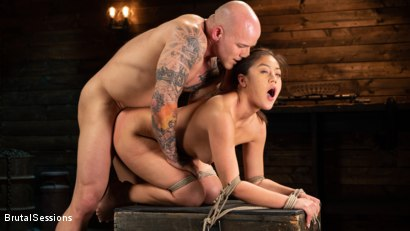 Photo number 15 from Kendra Spade: The Insatiable Slave shot for Brutal Sessions on Kink.com. Featuring Kendra Spade and Derrick Pierce in hardcore BDSM & Fetish porn.