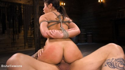 Photo number 24 from Kendra Spade: The Insatiable Slave shot for Brutal Sessions on Kink.com. Featuring Kendra Spade and Derrick Pierce in hardcore BDSM & Fetish porn.