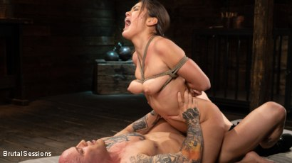 Photo number 26 from Kendra Spade: The Insatiable Slave shot for Brutal Sessions on Kink.com. Featuring Kendra Spade and Derrick Pierce in hardcore BDSM & Fetish porn.