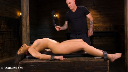 Photo number 3 from Kendra Spade: The Insatiable Slave shot for Brutal Sessions on Kink.com. Featuring Kendra Spade and Derrick Pierce in hardcore BDSM & Fetish porn.