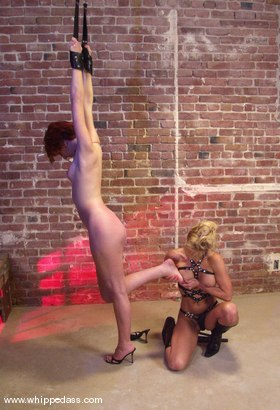 Photo number 6 from Ivy and Janay shot for Whipped Ass on Kink.com. Featuring Ivy and Janay in hardcore BDSM & Fetish porn.