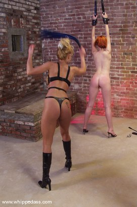 Photo number 8 from Ivy and Janay shot for Whipped Ass on Kink.com. Featuring Ivy and Janay in hardcore BDSM & Fetish porn.