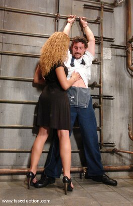 Photo number 2 from Eddy and Jessica Host shot for TS Seduction on Kink.com. Featuring Jessica Host and Eddy in hardcore BDSM & Fetish porn.