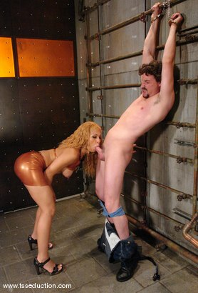Photo number 4 from Eddy and Jessica Host shot for TS Seduction on Kink.com. Featuring Jessica Host and Eddy in hardcore BDSM & Fetish porn.
