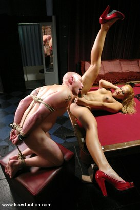 Photo number 7 from Jim and Jessica Host shot for TS Seduction on Kink.com. Featuring Jessica Host and Jim in hardcore BDSM & Fetish porn.