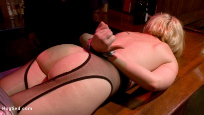 Photo number 15 from The Dark Corner Saloon: Miley May Taken, Tied Up, and Tormented  shot for Hogtied on Kink.com. Featuring Miley May in hardcore BDSM & Fetish porn.