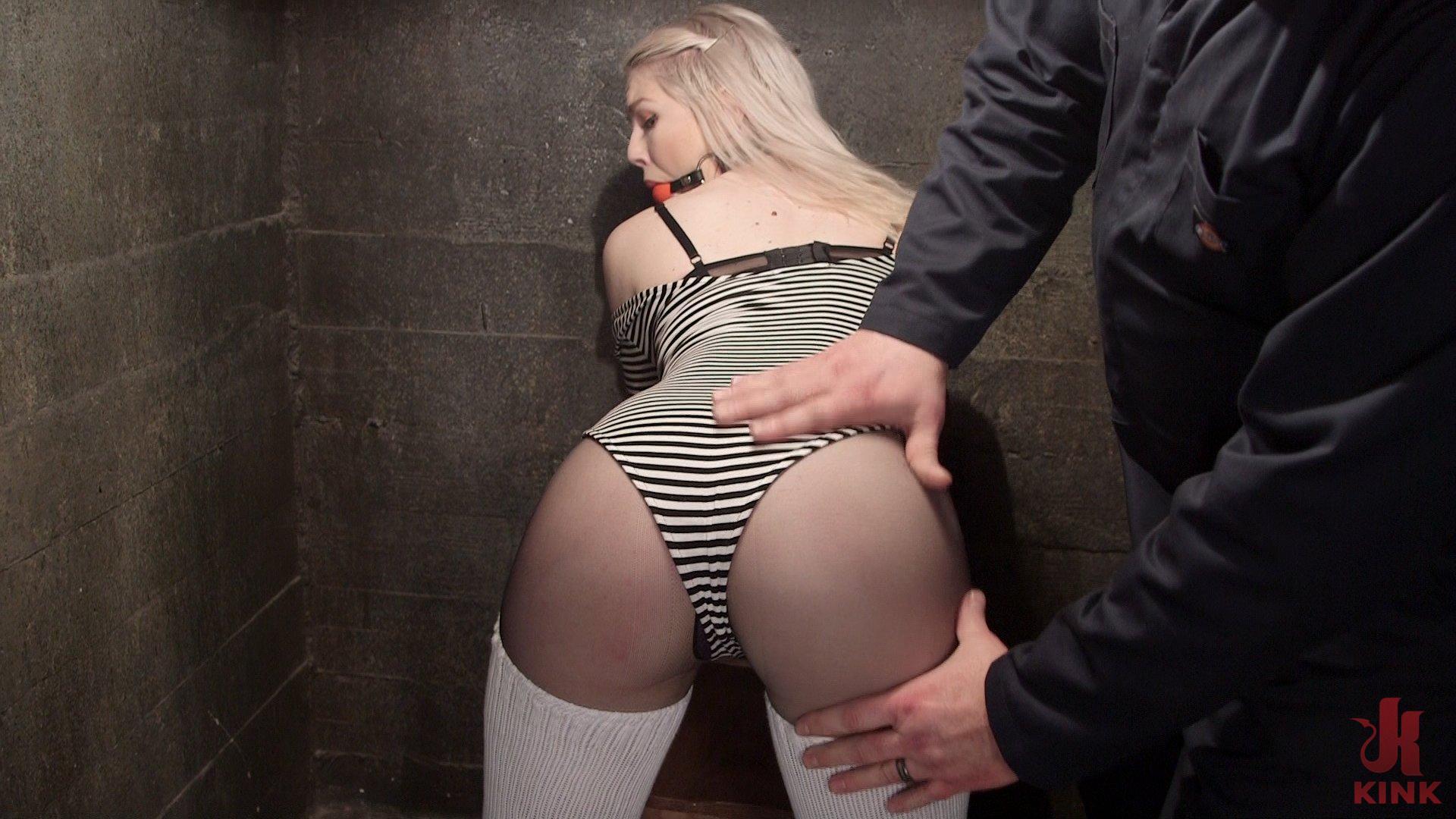 Photo number 1 from Adorable Slut Ella Nova gets fucked up by Sergeant Major shot for Hogtied on Kink.com. Featuring Ella Nova in hardcore BDSM & Fetish porn.