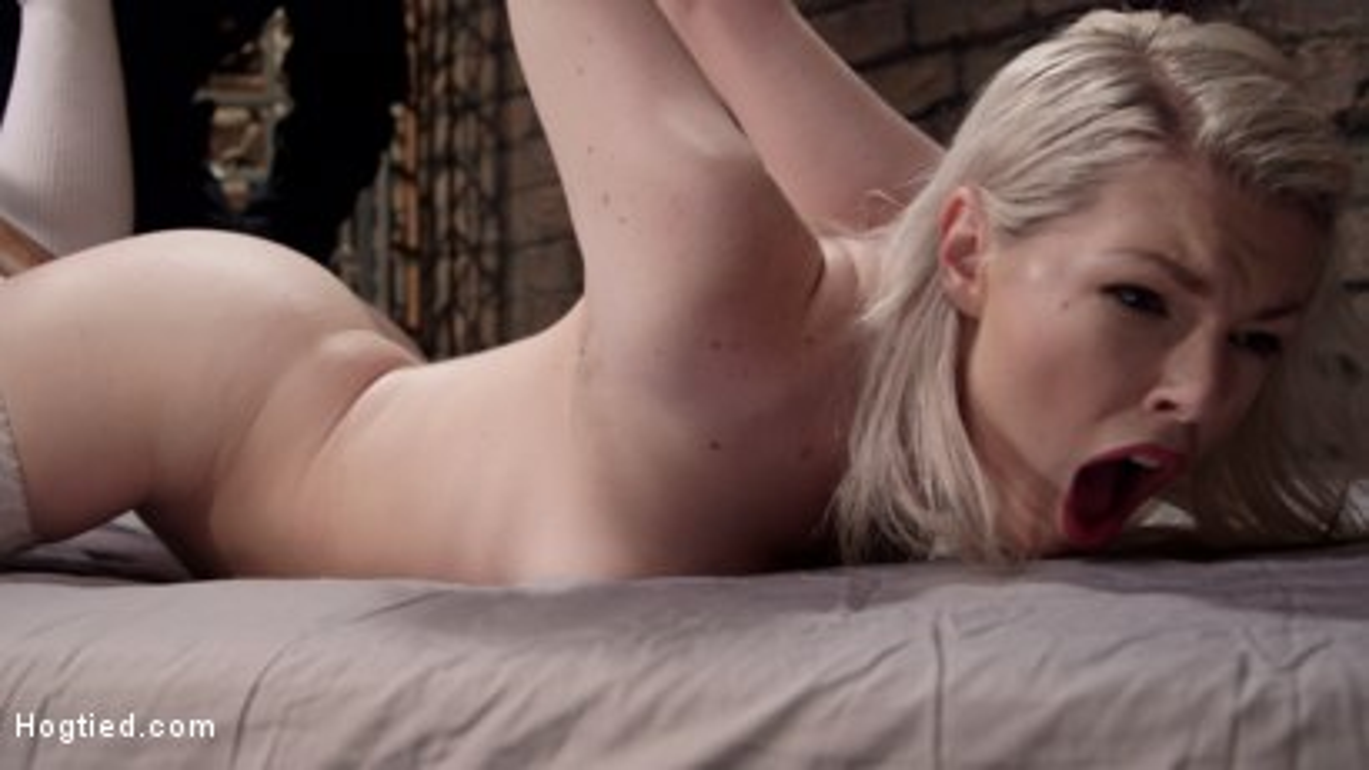 Photo number 11 from Adorable Slut Ella Nova gets fucked up by Sergeant Major shot for Hogtied on Kink.com. Featuring Ella Nova in hardcore BDSM & Fetish porn.