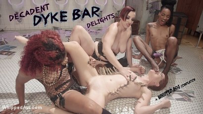 Decadent Dyke Bar Delights: A Classic & Creamy Whipped Ass Compilation