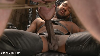 Photo number 18 from Well Hung Fuck Toys: Giant Dicks Dominate Tight Holes shot for Bound Gods on Kink.com. Featuring Colby Jansen, Casey Everett, Devin Trez, Jeremy Spreadums, Ace Rockwood, Seamus O'Reilly, Pierce Paris, Vander Pulaski, Michael DelRay and Nic Sahara in hardcore BDSM & Fetish porn.