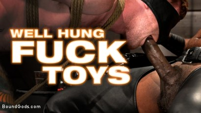 Well Hung Fuck Toys: Giant Dicks Dominate Tight Holes