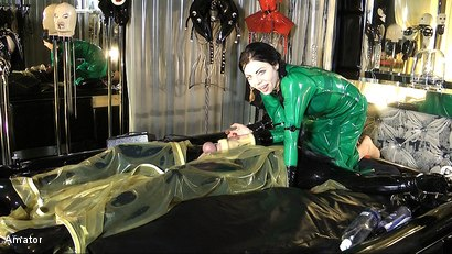 "Lady Ashley and Slave: Part 3 ""The Rubber Room"""