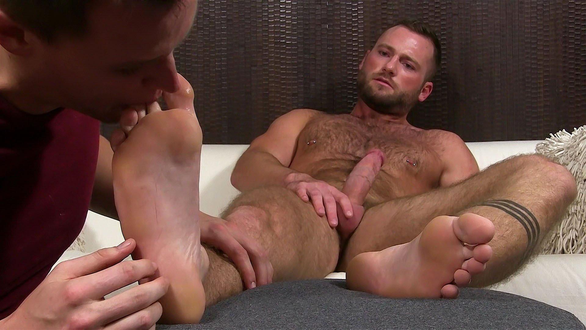 Aiden Trains His Foot Slave