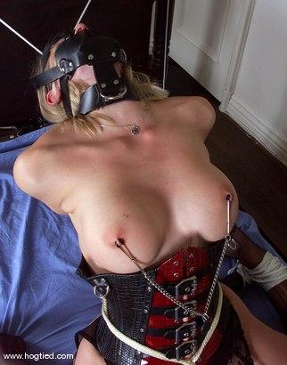 Photo number 3 from Rhannion shot for Hogtied on Kink.com. Featuring Rhannion in hardcore BDSM & Fetish porn.