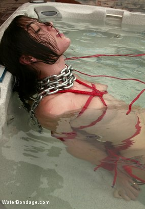 Photo number 14 from Sasha Grey Bonus Update! shot for Water Bondage on Kink.com. Featuring Sasha Grey in hardcore BDSM & Fetish porn.