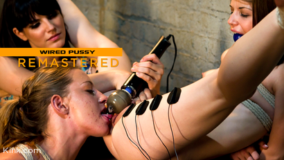 Kissing Co-Eds Sensi Pearl and Lizzy London Punished by Bobbi Starr
