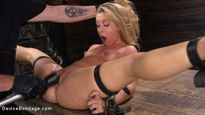 Photo number 4 from FLOOD: Submissive Women Bound in Metal and Made to Squirt shot for Device Bondage on Kink.com. Featuring Bonnie Rotten, Daisy Ducati, Roxanne Rae, Janice Griffith, Lilly Lit and Ashley Lane in hardcore BDSM & Fetish porn.