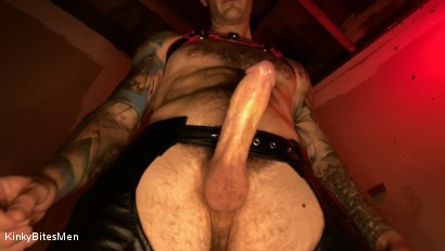 Photo number 8 from Christian Wilde: Daddy's Home shot for Kinky Bites Men on Kink.com. Featuring Christian Wilde in hardcore BDSM & Fetish porn.