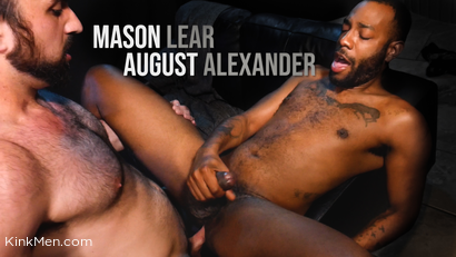 Mason Lear & August Alexander: Thief Tormented and Fucked Raw