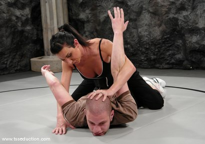 Photo number 2 from BONUS UPDATE shot for TS Seduction on Kink.com. Featuring Ariel Everitts and Wolf Hudson in hardcore BDSM & Fetish porn.