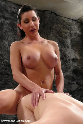 Photo number 10 from BONUS UPDATE shot for TS Seduction on Kink.com. Featuring Ariel Everitts and Wolf Hudson in hardcore BDSM & Fetish porn.
