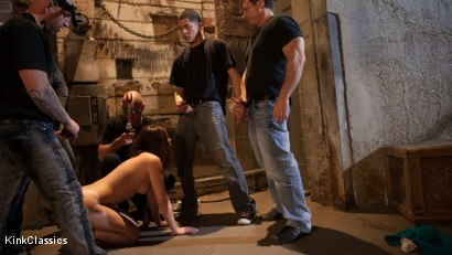 Photo number 1 from Casey Calvert Lives out her Gangbang Fantasy! First Gangbang,First Dp! shot for Kink Classics on Kink.com. Featuring Casey Calvert, John Strong, Mark Davis, Bill Bailey, Astral Dust and Alex Gonz in hardcore BDSM & Fetish porn.