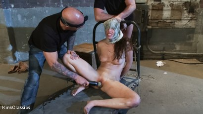 Photo number 18 from Casey Calvert Lives out her Gangbang Fantasy! First Gangbang,First Dp! shot for Kink Classics on Kink.com. Featuring Casey Calvert, John Strong, Mark Davis, Bill Bailey, Astral Dust and Alex Gonz in hardcore BDSM & Fetish porn.