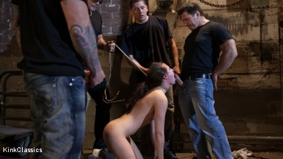 Photo number 4 from Casey Calvert Lives out her Gangbang Fantasy! First Gangbang,First Dp! shot for Kink Classics on Kink.com. Featuring Casey Calvert , John Strong, Mark Davis, Bill Bailey, Astral Dust and Alex Gonz in hardcore BDSM & Fetish porn.