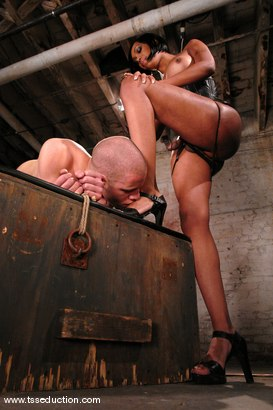 Photo number 9 from Sexy Jade and Wolf Hudson shot for TS Seduction on Kink.com. Featuring Sexy Jade and Wolf Hudson in hardcore BDSM & Fetish porn.