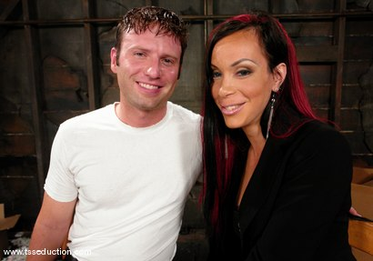 Photo number 1 from La Cherry Spice and Devin shot for TS Seduction on Kink.com. Featuring La Cherry Spice and Devin in hardcore BDSM & Fetish porn.