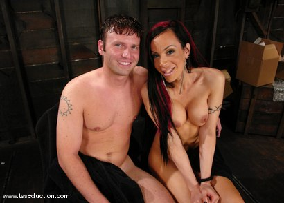 Photo number 15 from La Cherry Spice and Devin shot for TS Seduction on Kink.com. Featuring La Cherry Spice and Devin in hardcore BDSM & Fetish porn.