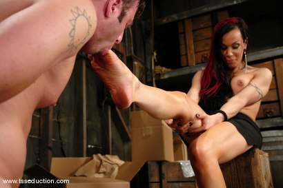 Photo number 7 from La Cherry Spice and Devin shot for TS Seduction on Kink.com. Featuring La Cherry Spice and Devin in hardcore BDSM & Fetish porn.